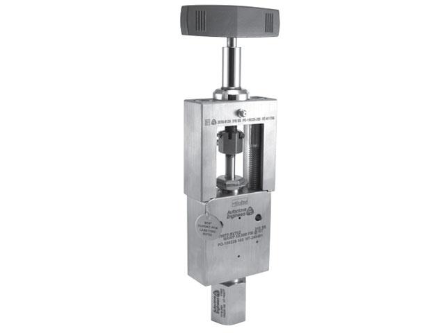 Autoclave Engineers High Pressure Yoke Needle Valve - 50Y