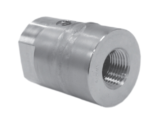 Wika 4355993 Model L990.34.N4FXN4F.SS.SS-0.SS.1.5K All Welded Diaphragm Threaded Diaphragm Seal1500 PSI 1/2 NPTF Stainless Steel