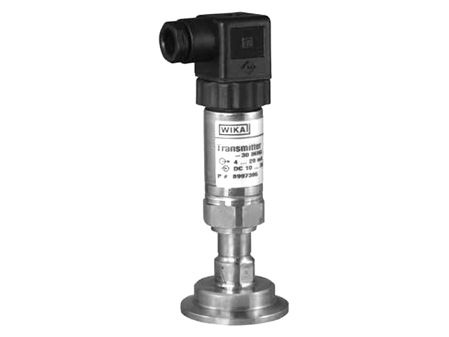 Wika 8547840 General Purpose Pressure Transmitter Model S-10 0-10 V, 3-wire G1/2B X DIN Stainless Steel