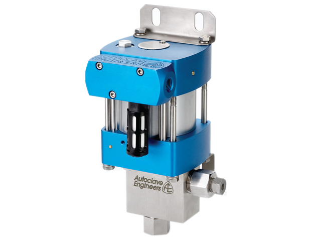 """Autoclave Engineers 3"""" Compact, Air-Driven, High Pressure Liquid Pump - ACL72-01 Series"""