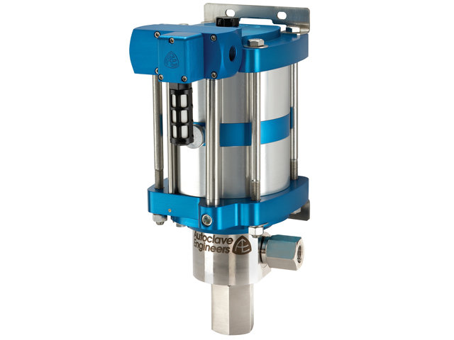 "Autoclave Engineers 6"" Standard, Air-Driven, High Pressure Liquid Pump - ASL15-02 Series"