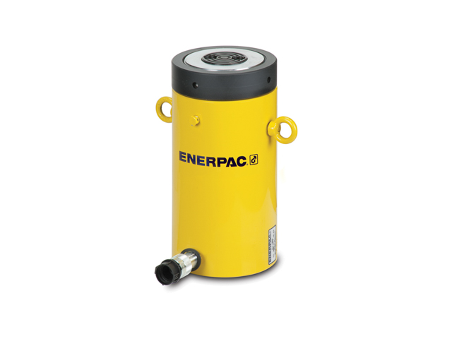 Enerpac CLL-1008 High Tonnage Lock Nut Hydraulic Cylinder Single Acting 100 Ton Steel Series CLL