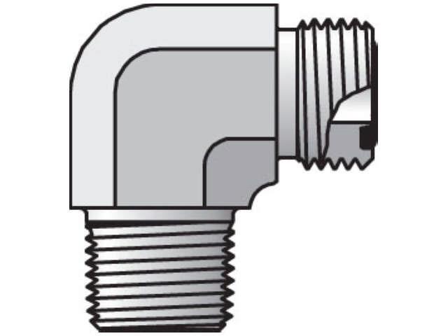 Seal-Lok ORFS 90° Elbow CLO