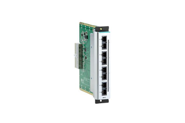 Moxa CM-600-4SSC 4-port Fast Ethernet interface modules for the EDS-600 Series