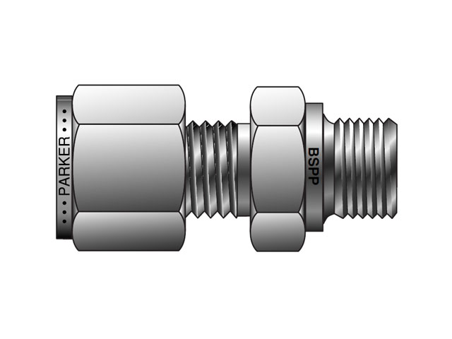 CPI Inch Tube BSPP Male Connector - FBZ