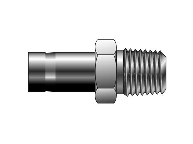 CPI Inch Tube NPT Tube End Male Adapter - T2HF
