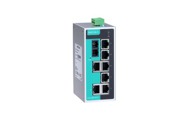 Moxa EDS-208A-M-SC-T 8-port unmanaged Ethernet switches