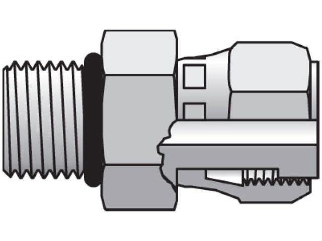 Seal-Lok ORFS Straight Swivel F65OL