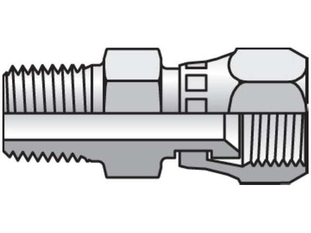 Triple-Lok 37° Straight Swivel F6X