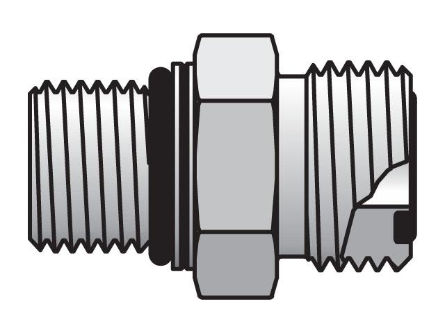 Seal-Lok ORFS Straight F87OMLO
