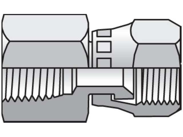 Triple-Lok 37° Straight Swivel G6X