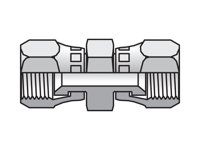 Triple-Lok 37° Straight Swivel HX6