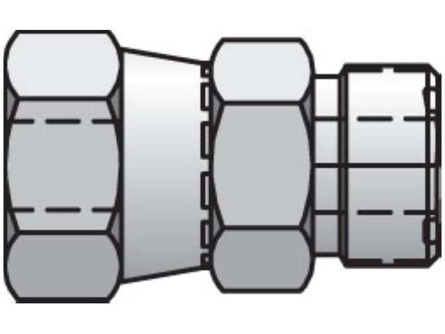 Seal-Lok ORFS Straight Swivel LOHL6