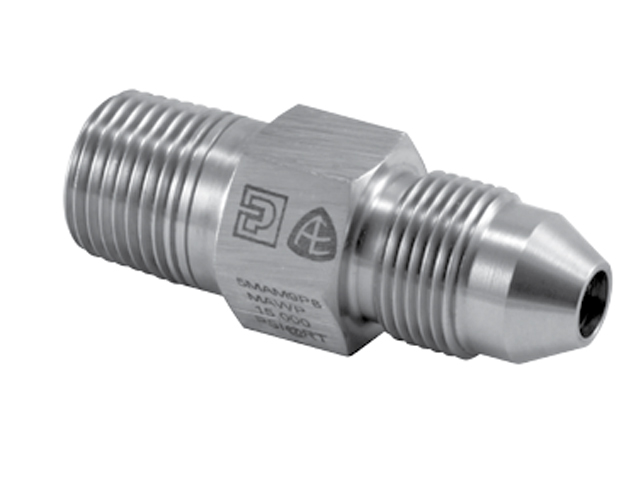 Autoclave Engineers Male / Male Adapter - High Pressure to Reverse High Pressure