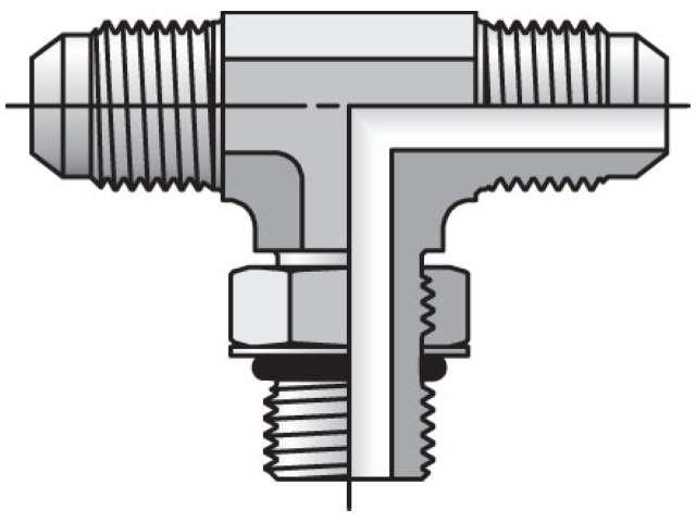 Triple-Lok 37° Tee S5OX