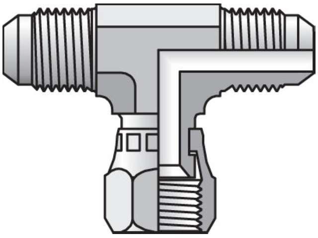 Triple-Lok 37° Tee S6X