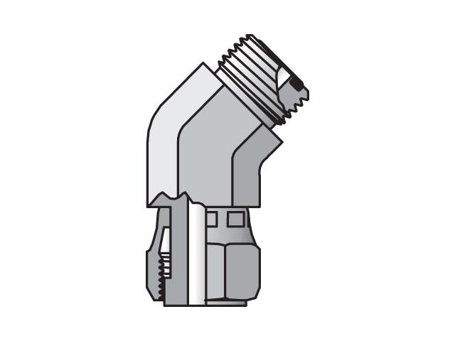 Seal-Lok ORFS 45° Elbow V6LO
