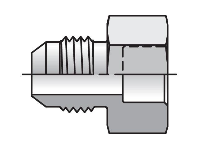 Triple-Lok 37° Straight XHB3
