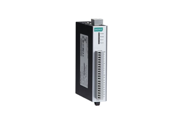 Moxa ioLogik E1242-T Ethernet remote I/O with 2-port Ethernet switch