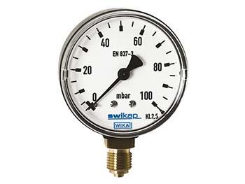 50853872 - Wika 50853872 Low Pressure Gauge Model 611 13 4