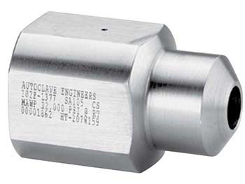 Autoclave Engineers Female High Pressure Header Coupling - Blind Drilled End