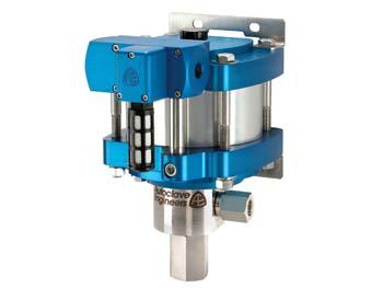 "Autoclave Engineers 6"" Standard, Air-Driven, High Pressure Liquid Pump - ASL10-01 Series"