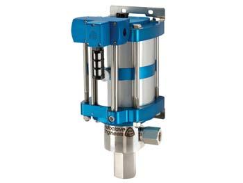 "Autoclave Engineers 6"" Standard, Air-Driven, High Pressure Liquid Pump - ASL10-02 Series"