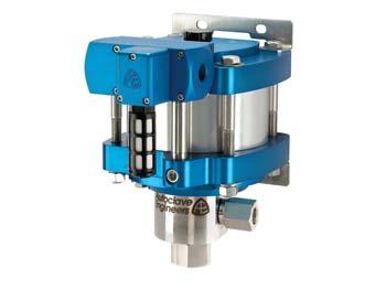 "Autoclave Engineers 6"" Standard, Air-Driven, High Pressure Liquid Pump - ASL25-01 Series"