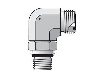 Seal-Lok ORFS 90° Elbow C87OMLO