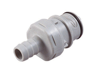 CPC Colder Products HFC22612 3/8 Hose Barb Non-Valved In-Line Coupling Insert