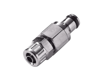 CPC Colder Products MC2004 1/4 PTF Non-Valved In-Line Coupling Insert