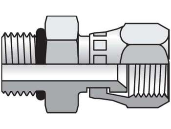Triple-Lok 37° Straight Swivel F65OX