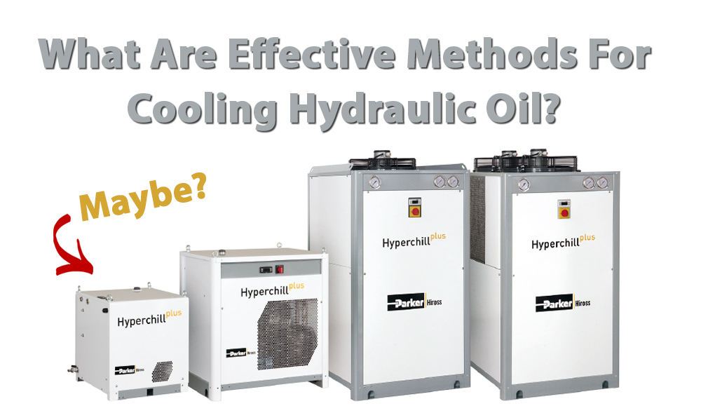 cooling hydraulic oil