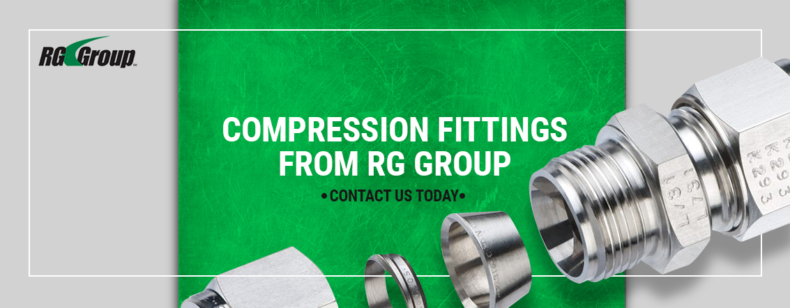 Compression fittings from RG Group