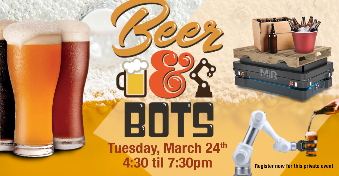 Beer & Bots – March 24, 2020