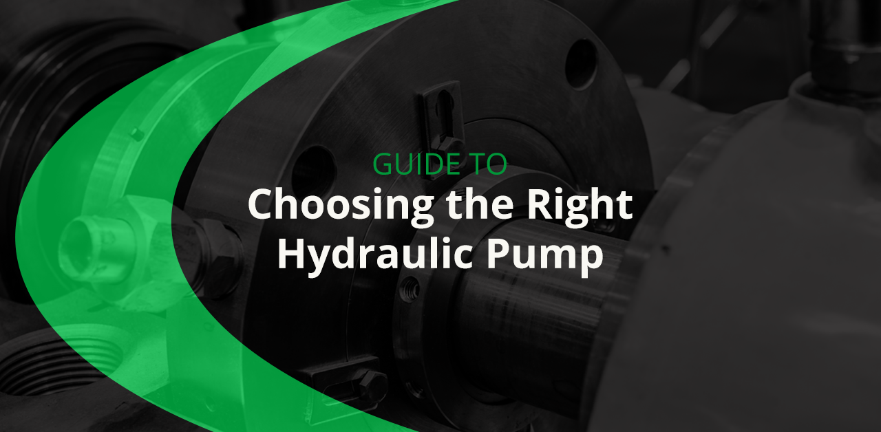 Guide to choosing the right hydraulic pump for your system