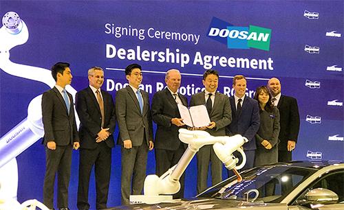 Doosan Robotics Signing