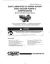 0323-0523-0823 & 1023 Series Lubricated Vacuum Pumps and Compressors Operation & Maintenance Manual