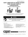 0465-0765-1065-2065-2565 & 5565 Series Lubricated Vacuum Pumps and Compressors Operation & Maintenance Manual