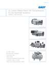 UL Listed Oilless Piston Air Compressors for Dry Sprinkler Systems