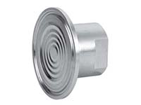 Wika 8588759 Model L990.22.N2FX15.SS.SS Clamped Sanitary Diaphragm Seal 600 PSI 1-1/2 Stainless Steel
