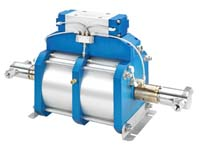 "Autoclave Engineers 10"" High Flow, Air-Driven, High Pressure Liquid Pump - AHL33-2D Series"