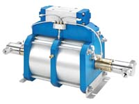 "Autoclave Engineers 10"" High Flow, Air-Driven, High Pressure Liquid Pump - AHL66-2D Series"