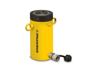 Enerpac CLL-506 High Tonnage Lock Nut Hydraulic Cylinder Single Acting 50 Ton Steel Series CLL