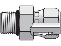 Seal-Lok ORFS Straight Swivel F65OL