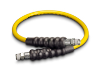 Enerpac H-7203 High Pressure Hydraulic Hose Assembly 1/4 Hose ID X 3/8 NPTF X 3/8 NPTF X 3 FT Thermoplastic