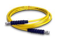 Enerpac H-7220 High Pressure Hydraulic Hose Assembly 1/4 Hose ID X 3/8 NPTF X 3/8 NPTF X 20 FT Thermoplastic