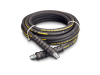 Enerpac H-9230 High Pressure Hydraulic Hose Assembly 1/4 Hose ID X 3/8 NPTF X 3/8 NPTF X 30 FT Rubber
