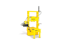 Enerpac IPR-10075 Hydraulic Press Roll Frame Double Acting 100 Ton Welded Frame Series IPR