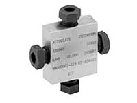 Autoclave Engineers Medium Pressure Cross Fitting - QS